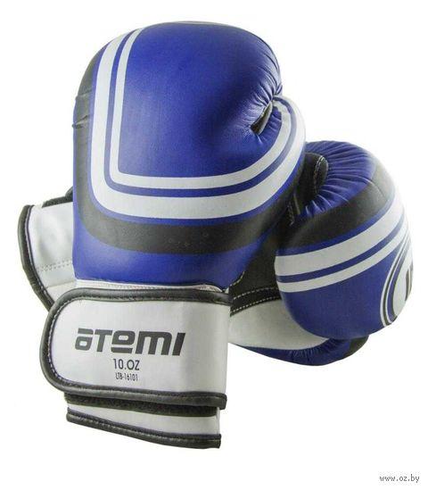 Перчатки боксёрские LTB-16101 (L/XL; синие; 14 унций) — фото, картинка