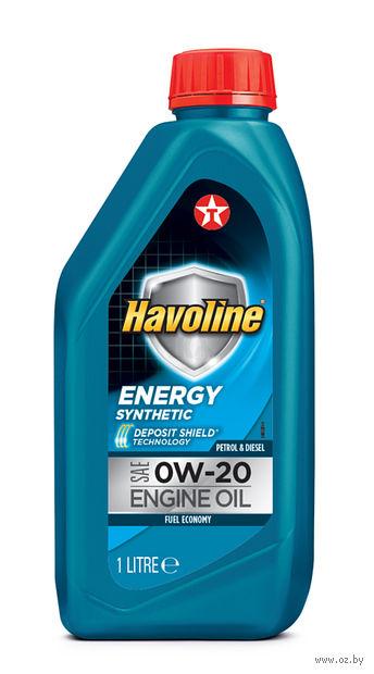 "Масло моторное ""Havoline Energy"" 0W-20 (1 л) — фото, картинка"