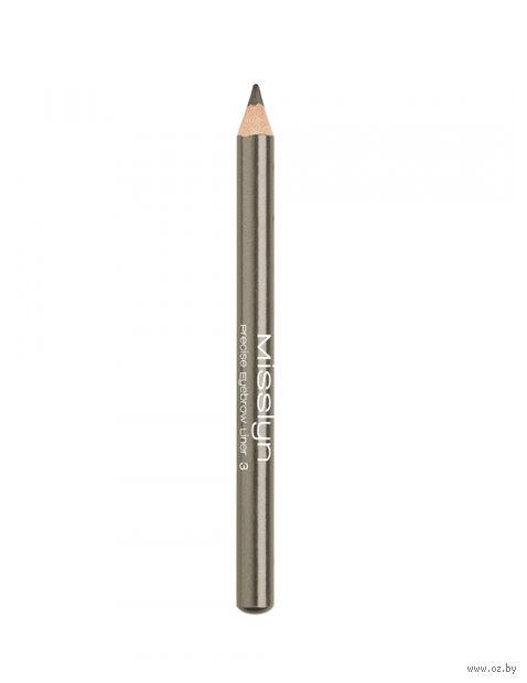 "Карандаш для бровей ""Precise Eyebrow Liner"" (тон: 3) — фото, картинка"