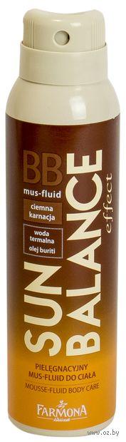 "Мусс-флюид для тела ""Sun Balance ВВ. Для темной кожи"" (150 мл) — фото, картинка"