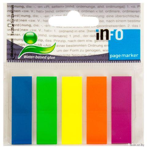 """Набор клейких закладок """"Info Notes"""" (цвет: ассорти)"""