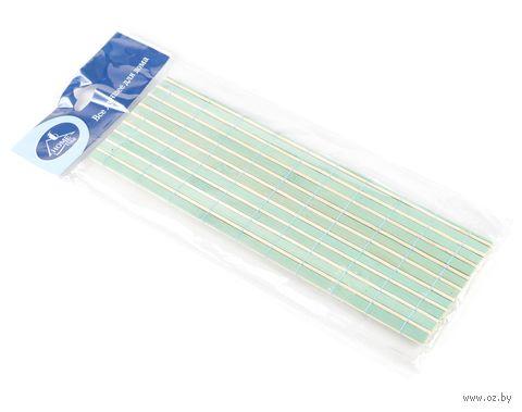 Подставка сервировочная бамбуковая окрашенная (45*30 см, зеленая)