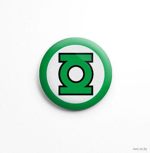 """Значок маленький """"Зеленый фонарь"""" (арт. 299) — фото, картинка"""
