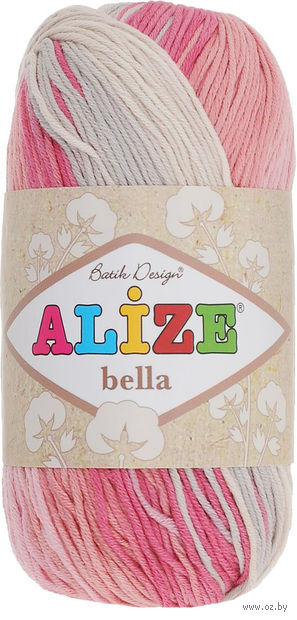 "Пряжа ""ALIZE. Bella Batik №5512"" (50 г; 180 м) — фото, картинка"