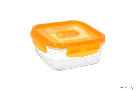 Контейнер для еды (0,76 л; оранжевый) — фото, картинка