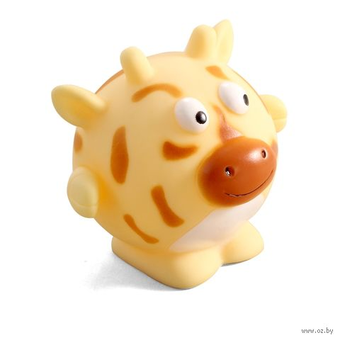"""Игрушка для собак с пищалкой """"Жираф"""" (8,5 см) — фото, картинка"""