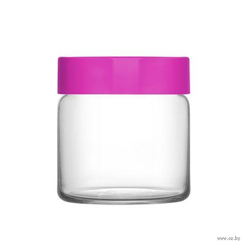 """Банка для сыпучих продуктов стеклянная """"Novo"""" (635 мл) — фото, картинка"""