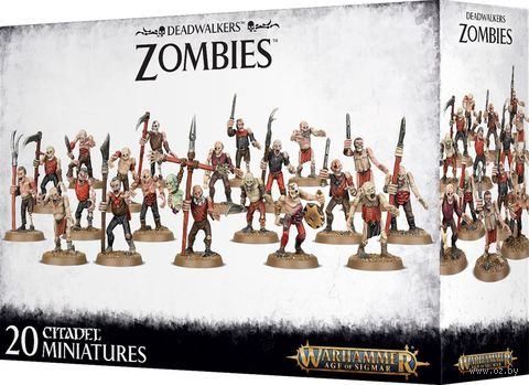 Warhammer Age of Sigmar. Deadwalkers. Zombies (91-07) — фото, картинка