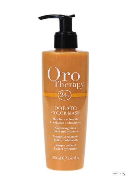 "Тонирующая маска для волос ""Oro Therapy"" тон: dorato — фото, картинка"