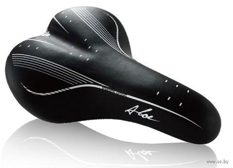"""Седло для велосипеда """"2644"""" (чёрно-белое) — фото, картинка"""