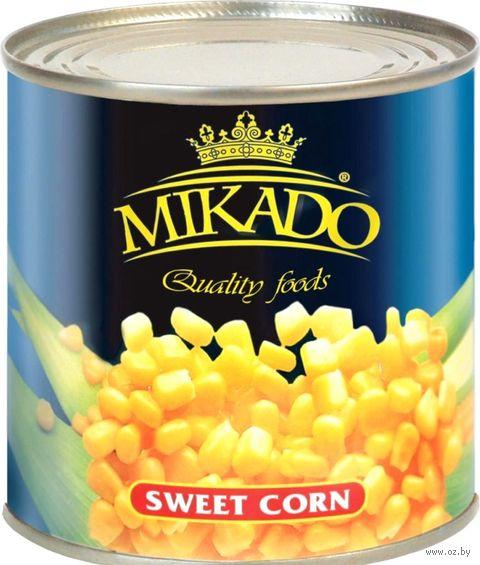 "Кукуруза консервированная ""Mikado"" (425 мл) — фото, картинка"