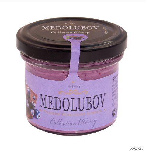 """Крем-мёд """"Medolubov. С черникой и шоколадом"""" (125 мл) — фото, картинка"""