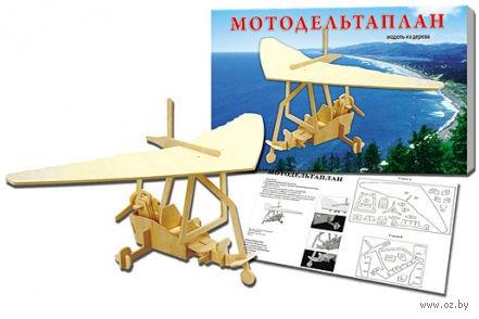 """Сборная модель из дерева """"Мотодельтаплан"""" — фото, картинка"""