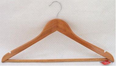 Вешалка для одежды деревянная (44,5 см, арт. JL13009)