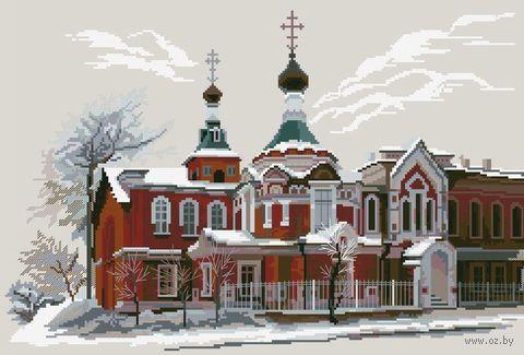 """Вышивка крестом """"Церковь Иоанна Предтечи"""""""