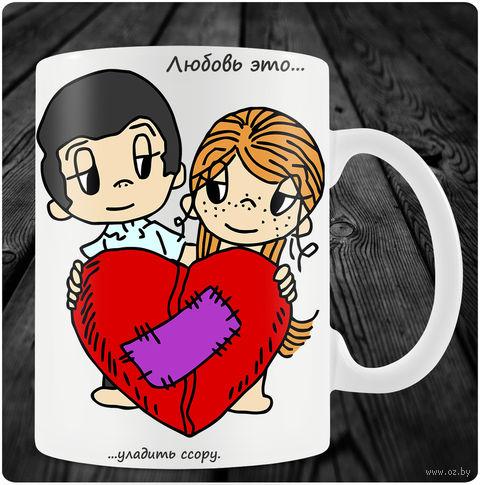 "Кружка ""Love is"" (art.44)"