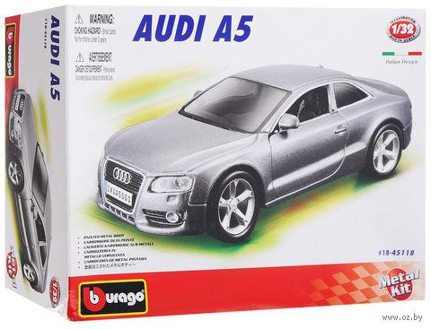 """Модель машины """"Bburago. Audi A5"""" (масштаб: 1/32)"""