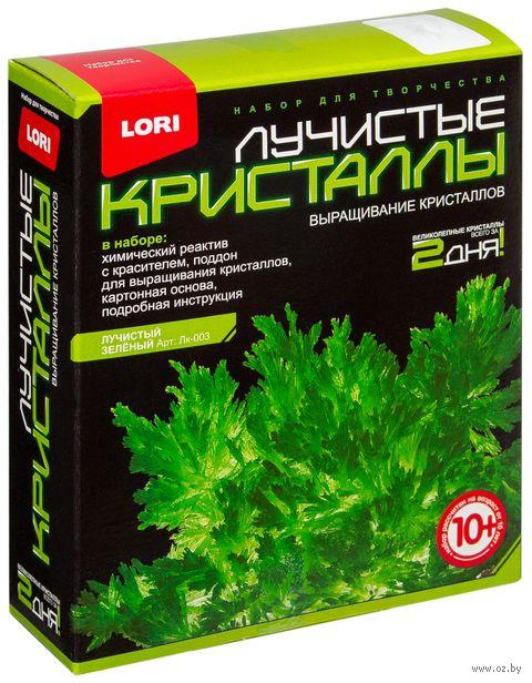 """Набор для выращивания кристаллов """"Лучистые кристаллы. Зеленый"""" — фото, картинка"""