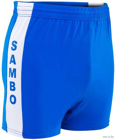 Шорты для самбо (р. 50; синие) — фото, картинка