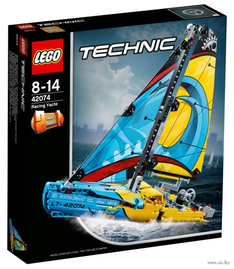 """LEGO Technic """"Гоночная яхта"""" — фото, картинка"""
