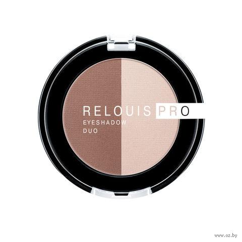 "Тени для век ""Relouis Pro Eyeshadow Duo"" (тон: 104) — фото, картинка"