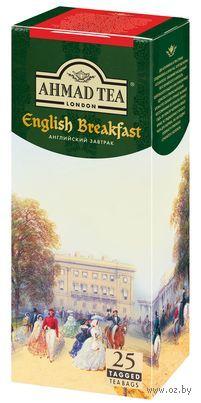 """Чай черный """"Ahmad Tea. Английский завтрак"""" (25 пакетиков) — фото, картинка"""