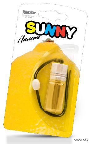 "Ароматизатор подвесной ""Sunny"" (лимон; арт. RW6076) — фото, картинка"