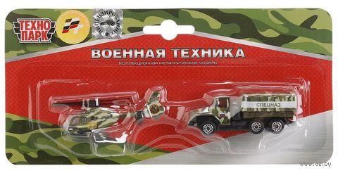 """Игровой набор """"Военная техника"""" (арт. SB-15-09-BLC (144) — фото, картинка"""