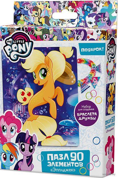 "Пазл ""My Little Pony. Эпплджек"" (90 элементов) — фото, картинка"