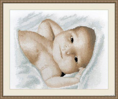 "Вышивка крестом ""Малышок"" (220х270 мм) — фото, картинка"