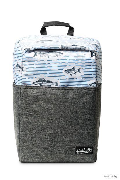 """Рюкзак """"Рыбки"""" (20 л; белый) — фото, картинка"""