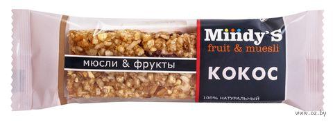 """Батончик-мюсли """"Mindy'S. Кокос"""" (35 г) — фото, картинка"""