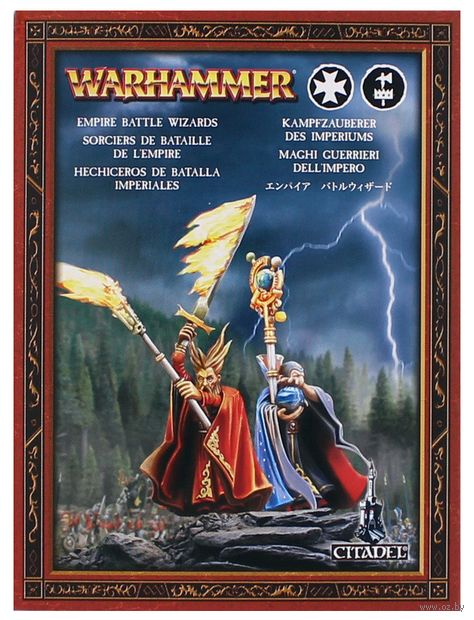 Warhammer Age of Sigmar. Free Peoples. Battlemage (86-17) — фото, картинка