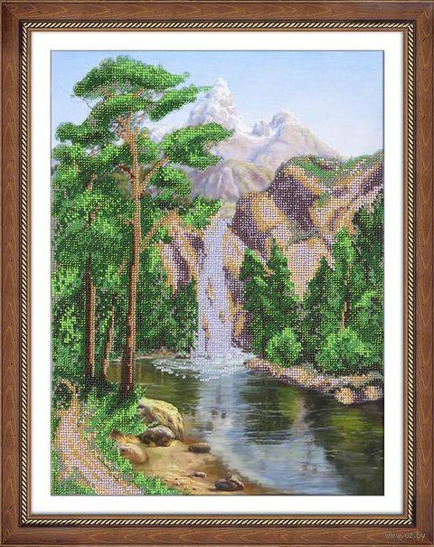 "Вышивка бисером ""Водопад"" (280х380 мм) — фото, картинка"