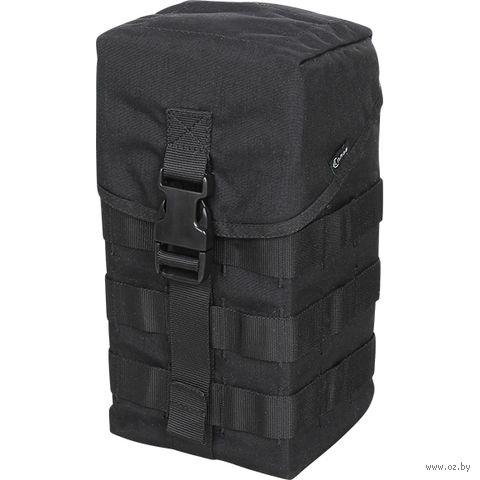 Подсумок под противогаз/багажный (чёрный) — фото, картинка