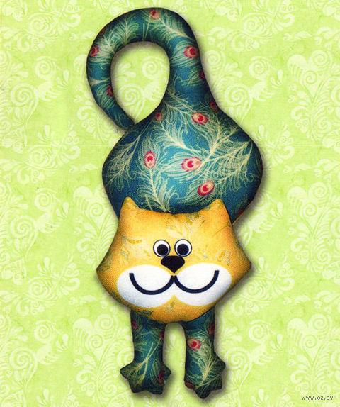 """Набор для шитья из ткани """"Ловкий котик"""" — фото, картинка"""