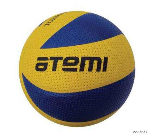 """Мяч волейбольный Atemi """"Tornado"""" №5 (жёлто-синий; поливинилхлорид) — фото, картинка"""