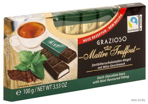 "Шоколад темный ""Mint"" (100 г) — фото, картинка"