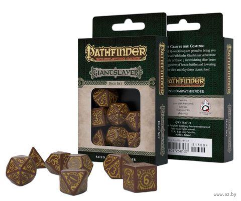 """Набор кубиков """"Pathfinder. Giantslayer"""" (7 шт.) — фото, картинка"""