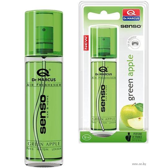 "Ароматизатор-спрей жидкий ""Senso New"" (Green Apple; 50 мл; арт. 8322) — фото, картинка"