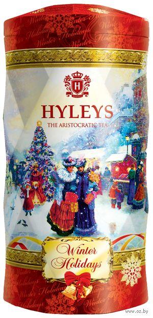 """Чай черный листовой """"Hyleys. Зимние каникулы"""" (125 г; в банке) — фото, картинка"""