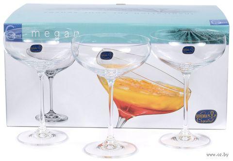 """Бокал для мартини стеклянный """"Megan"""" (6 шт.; 290 мл) — фото, картинка"""