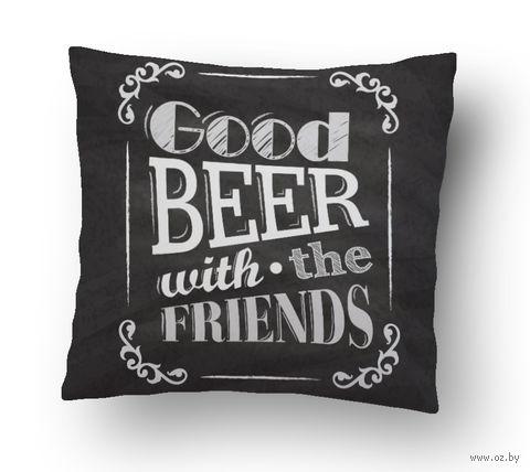 """Подушка маленькая """"Beer"""" (art. 3; 15x15 см)"""