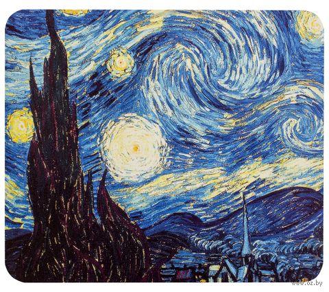 "Коврик для мыши ""Ван Гог. Звездная ночь"" (арт. 387) — фото, картинка"