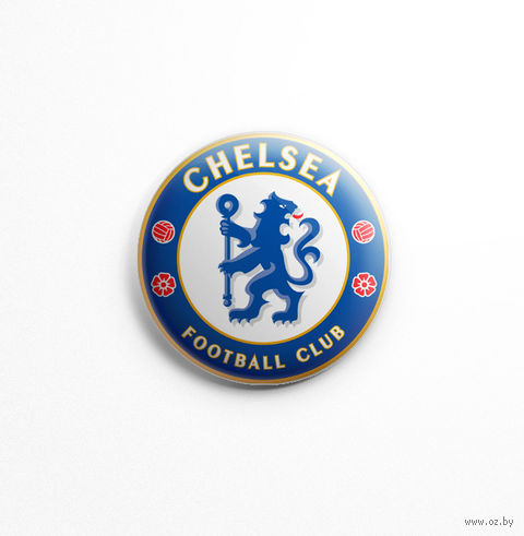 "Значок маленький ""Челси"" (арт. 435) — фото, картинка"