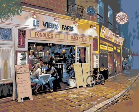 """Картина по номерам """"Париж"""" (400х500 мм) — фото, картинка"""