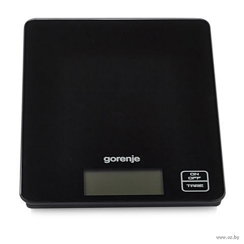 Кухонные весы Gorenje KT05BK (черные) — фото, картинка