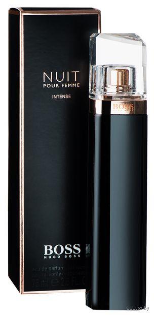 """Парфюмерная вода для женщин """"Nuit Pour Femme Intense"""" (75 мл) — фото, картинка"""