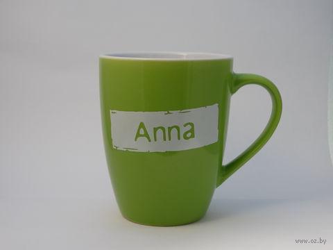 """Кружка высокая Name Is """"ANNA"""""""