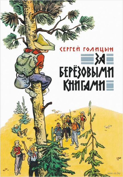 За березовыми книгами. С. Голицын